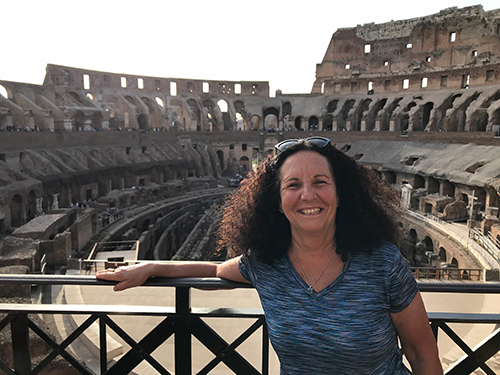 Visiting the Roman Colosseum